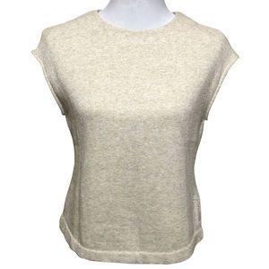 DKNY Boxy Sleeveless Sweatshirt